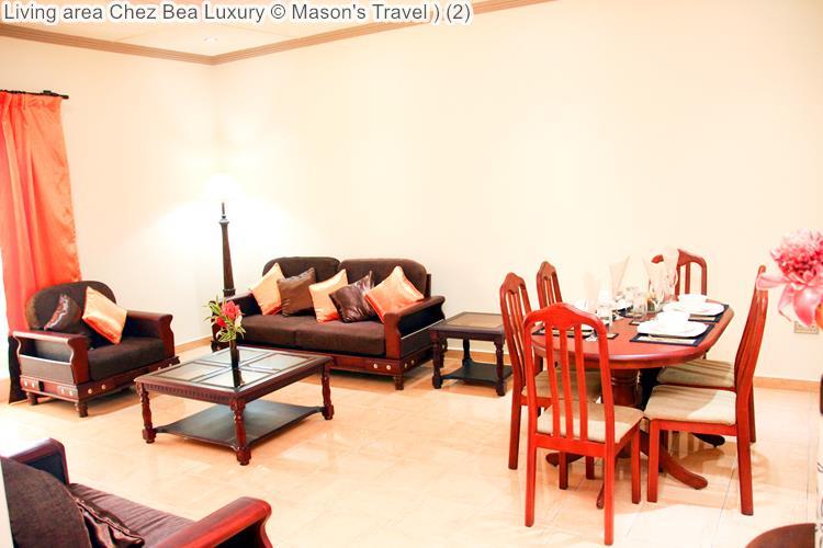 Living Area Chez Bea Luxury ©