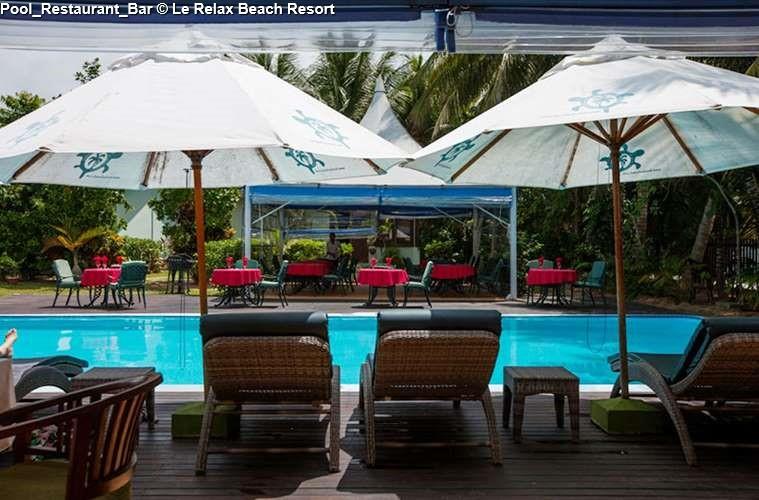 Pool Restaurant Bar Le Relax Beach Resort