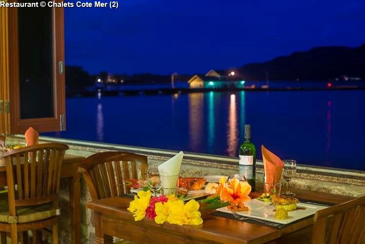 Restaurant © Chalets Cote Mer