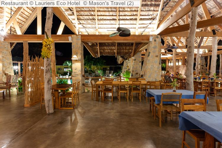 Restaurant © Lauriers Eco Hotel
