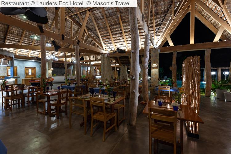Restaurant Lauriers Eco Hotel