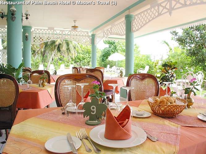Restaurant of Palm Beach Hotel
