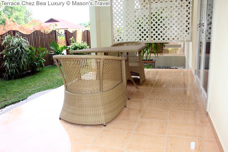 Terrace Chez Bea Luxury