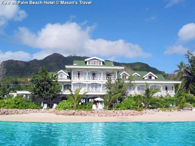 gezicht opPalm Beach Hotel