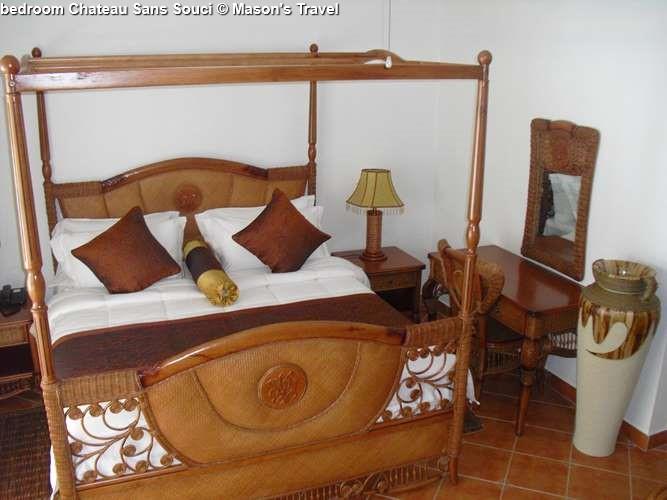 bedroom Chateau Sans Souci