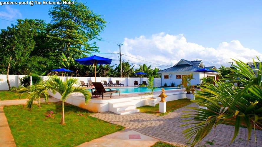 gardens pool @The Britannia Hotel