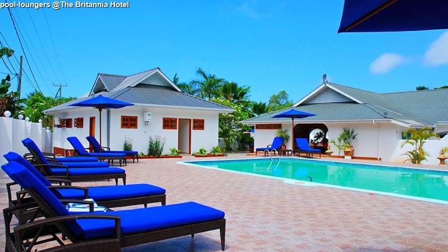 pool loungers @The Britannia Hotel