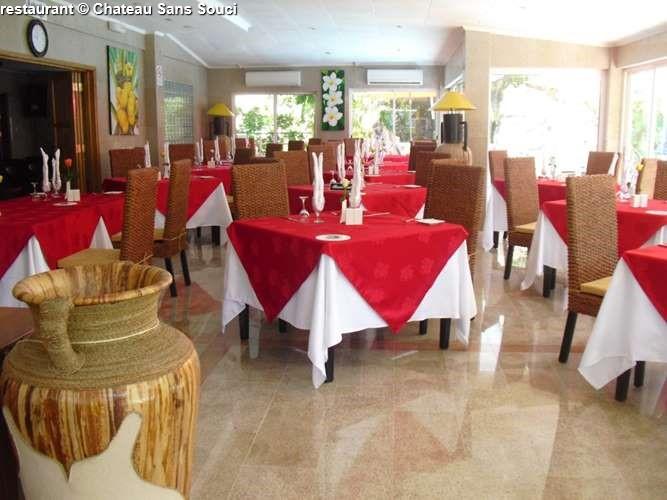 restaurant Chateau Sans Souci