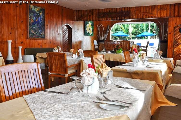 restaurant @The Britannia Hotel
