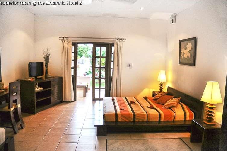 superior room @The Britannia Hotel