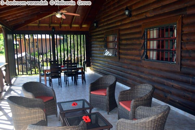 bedroom verandah Heliconia Grove