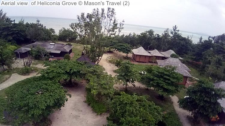 Aerial view of Heliconia Grove