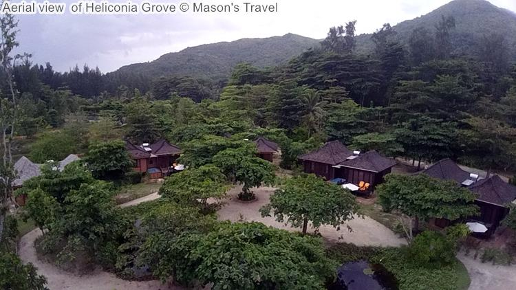 Aerial View Of Heliconia Grove ©