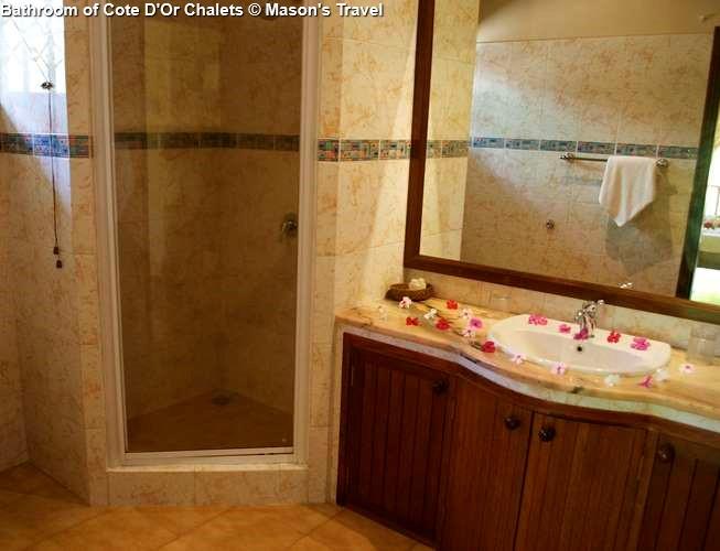 Bathroom of Cote DOr Chalets