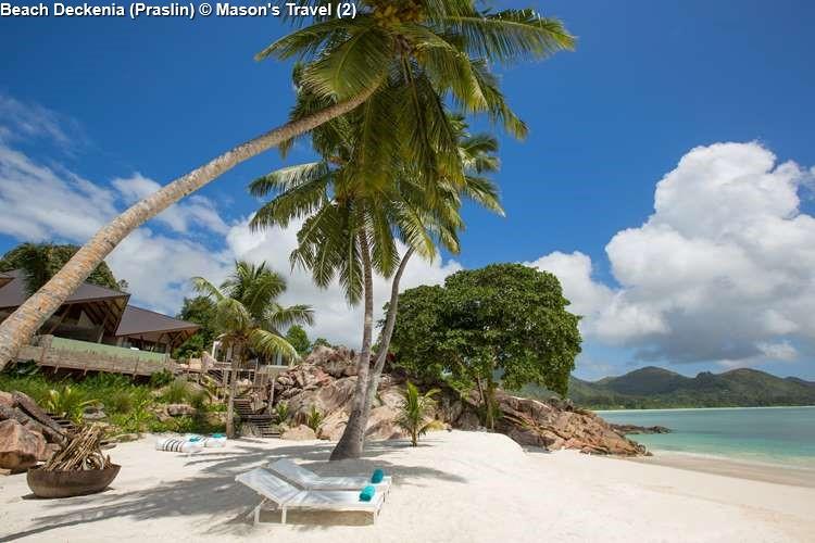 Beach Deckenia Praslin