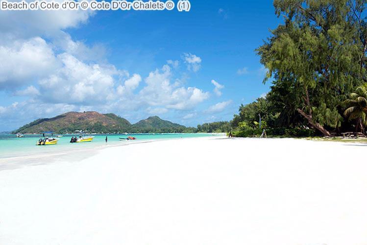 Beach of Cote dOr Cote DOr Chalets