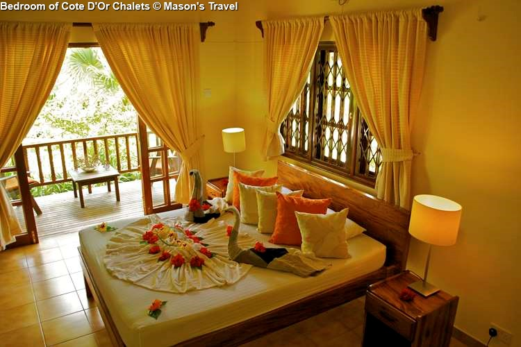 Bedroom of Cote DOr Chalets
