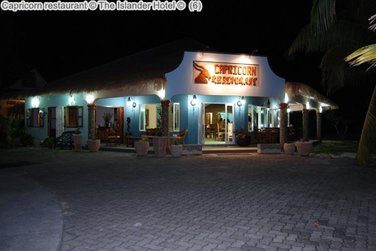 Capricorn restaurant The Islander Hotel