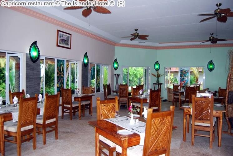 Capricorn Restaurant © The Islander Hotel © (9)