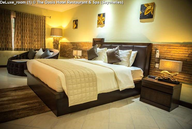DeLuxe Room 1 © The Oasis Hotel Restaurant Spa Seychelles