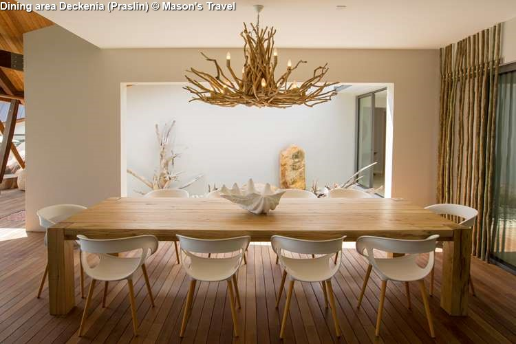Dining area Deckenia Praslin