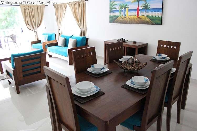 Dining area Casa Tara Villas