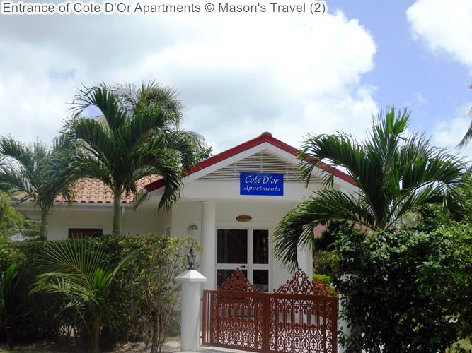 Entrance of Cote DOr Apartments