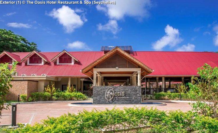 Exterior 1 © The Oasis Hotel Restaurant Spa Seychelles