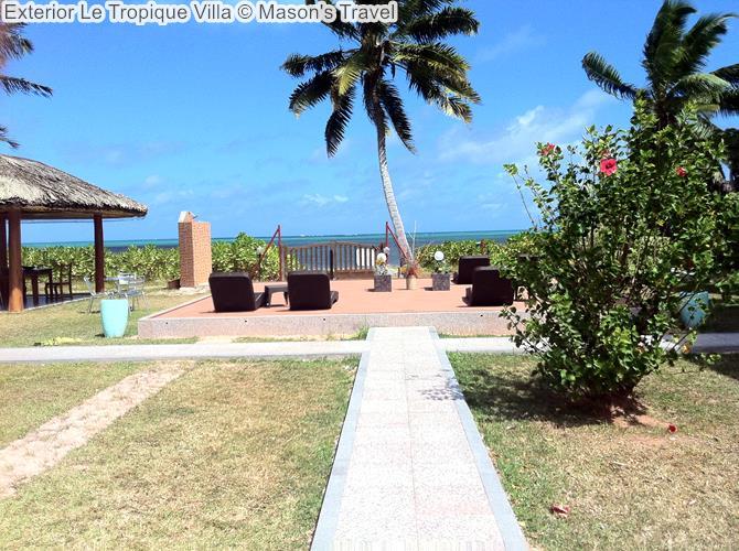 Exterior Le Tropique Villa