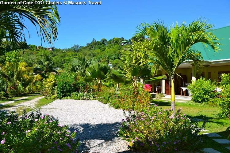 Garden of Cote DOr Chalets