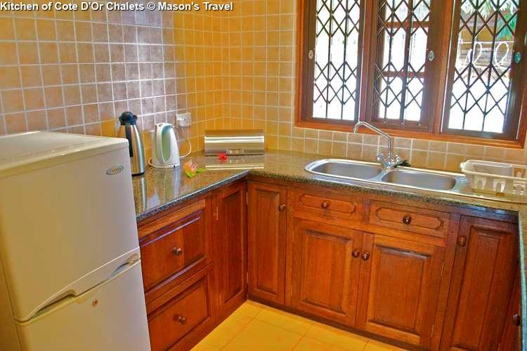 Kitchen of Cote DOr Chalets