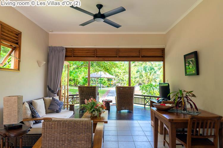 Living room Les Villas dOr