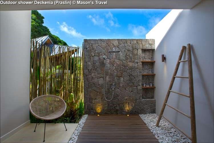 Outdoor shower Deckenia Praslin