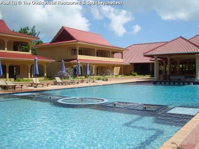 Pool The Oasis Hotel Restaurant Spa Seychelles