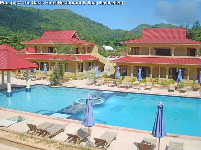 Pool © The Oasis Hotel Restaurant Spa Seychelles