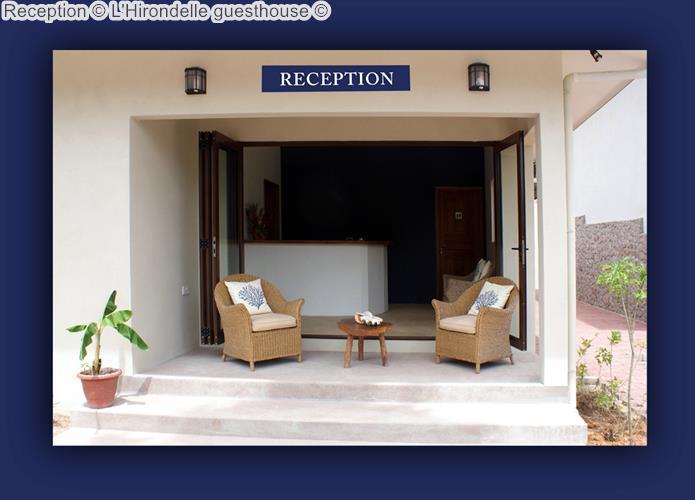 Reception © L'Hirondelle Guesthouse