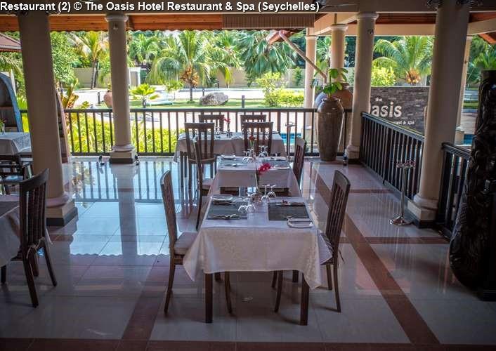 Restaurant The Oasis Hotel Restaurant Spa Seychelles