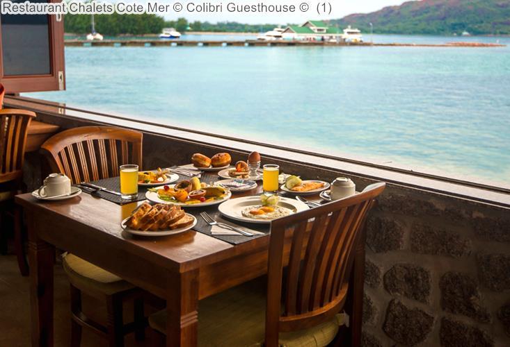 Restaurant Chalets Cote Mer © Colibri Guesthouse ©