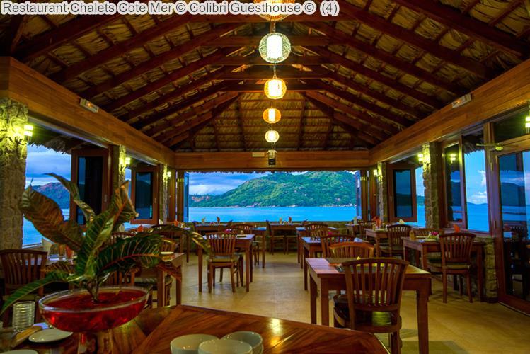 Restaurant Chalets Cote Mer Colibri Guesthouse