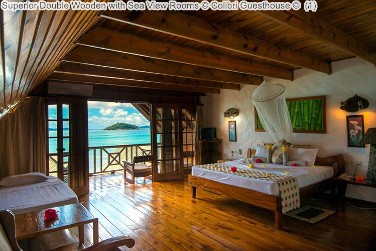 Superior Double Wooden With Sea View Rooms © Colibri Guesthouse ©