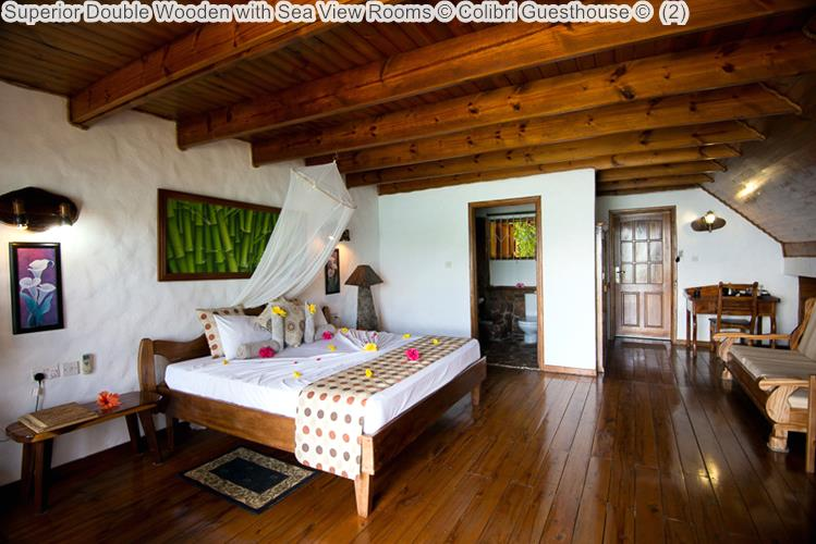 Superior Double Wooden with Sea View Rooms Colibri Guesthouse