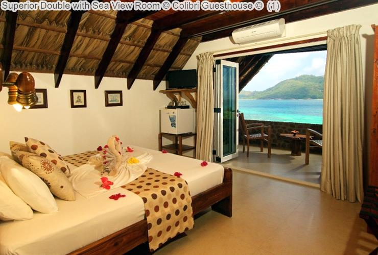 Superior Double with Sea View Room Colibri Guesthouse