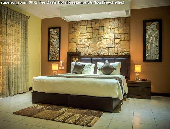 Superior Room 8 © The Oasis Hotel Restaurant Spa Seychelles