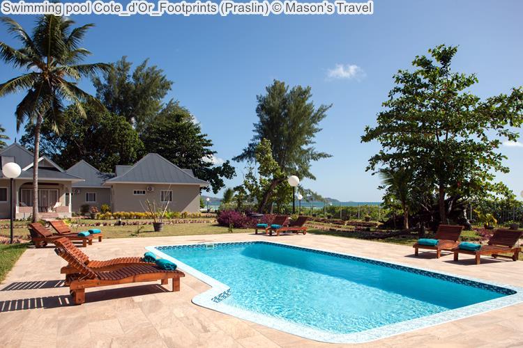 Swimming Pool Cote D'Or Footprints (Praslin) ©