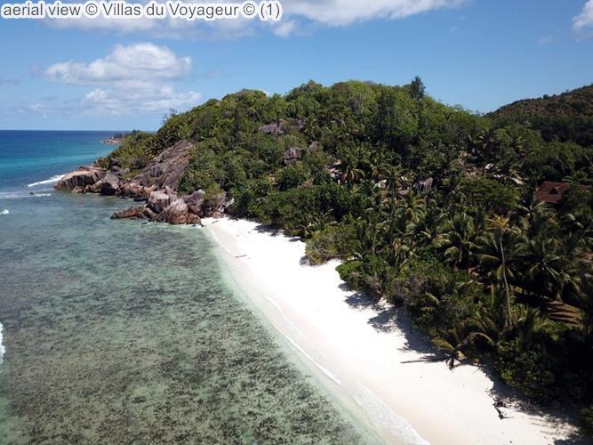 Aerial View © Villas Du Voyageur ©