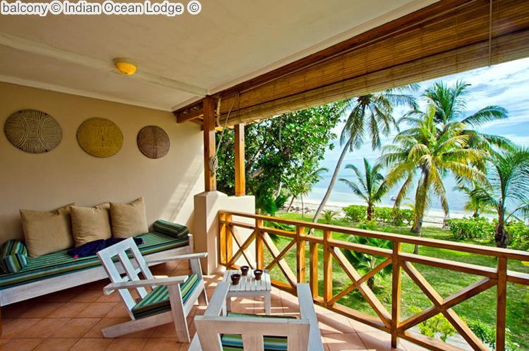 balcony Indian Ocean Lodge