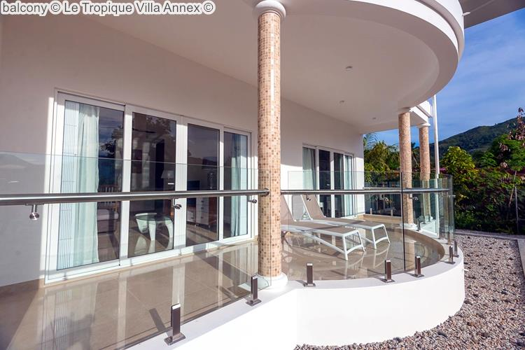 balcony Le Tropique Villa Annex