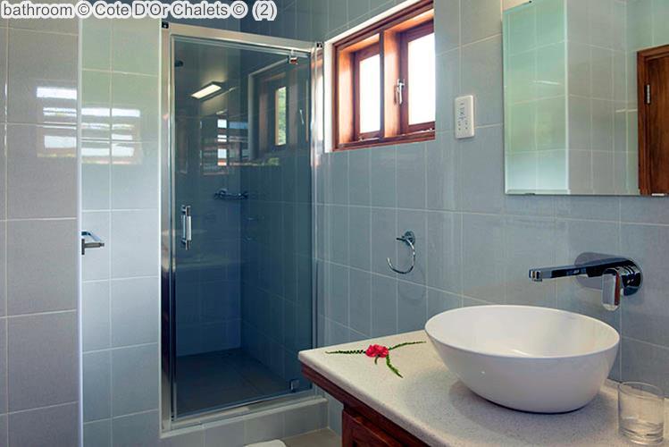 bathroom Cote DOr Chalets