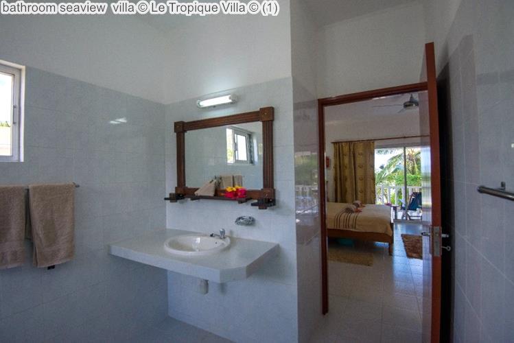 bathroom seaview villa Le Tropique Villa