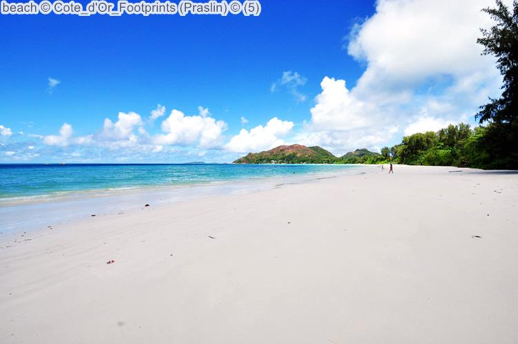 Beach © Cote D'Or Footprints (Praslin) ©